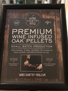 PREMIUM WINE INFUSED OAK PELLETS FOR BBQ